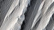 Wind Carved Rock on Mars