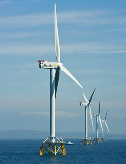 Wind could meet many times world's total power