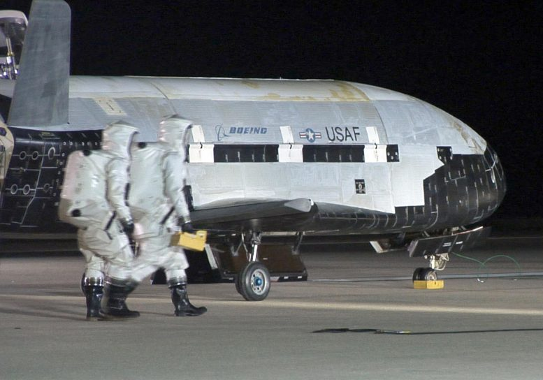 X-37B Orbital Test Vehicle
