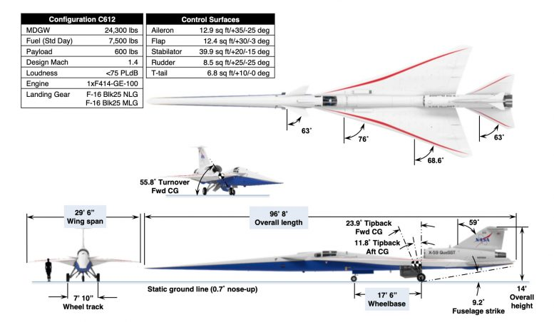 X-59 Quiet SuperSonic Technology Demonstrator