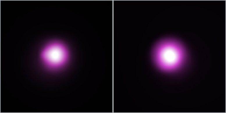 X ray Images of PSS 0133+0400 and PSS 0955+5940