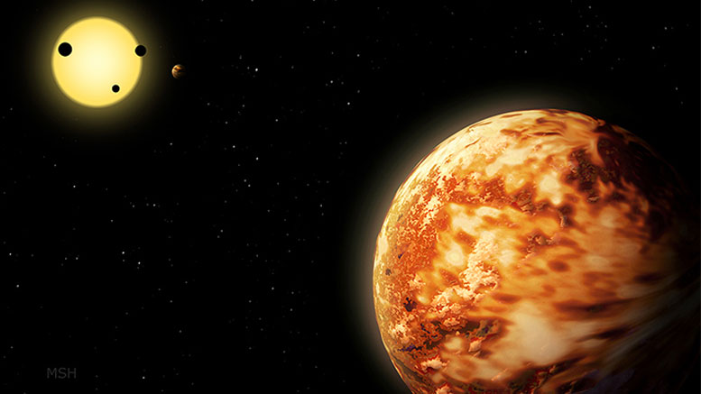 """Yale Astronomers Discover a """"Lost"""" Planet That is Nearly the Size of Neptune"""