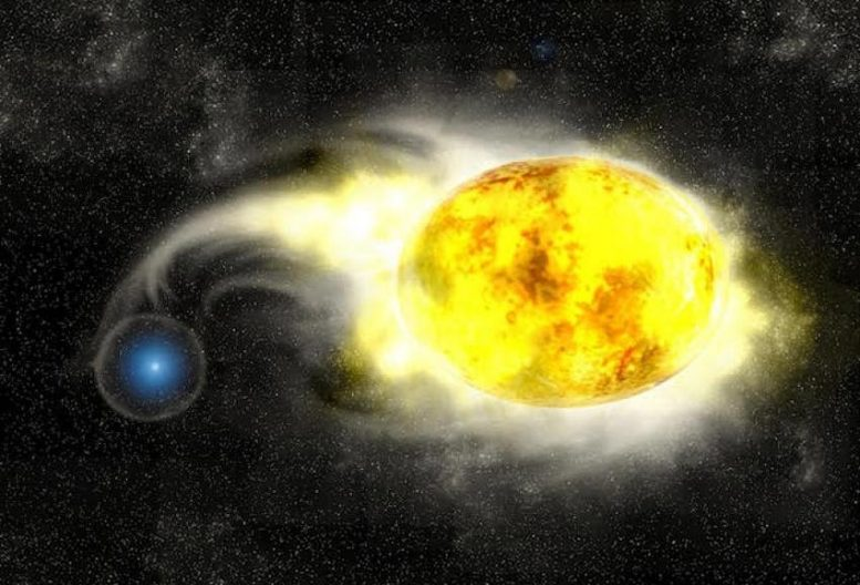 Yellow Supergiant in a Close Binary With a Blue, Main Sequence Companion Star
