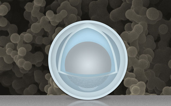 Yolks and Shells Improve Lithium-Ion Batteries