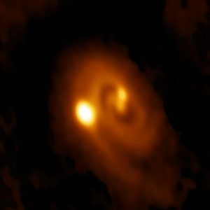 Young Stellar System Caught in Act of Forming Close Multiples