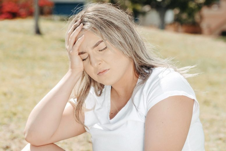 Young Woman Migraine