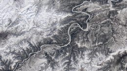 Yukon River Ice Cover