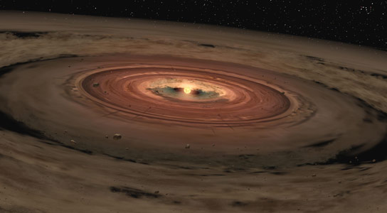 Zombie Vortices Help Lead to the Birth of a New Star