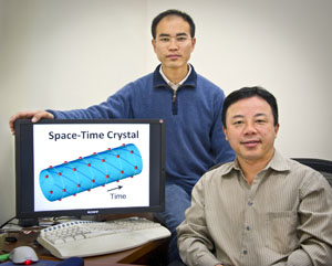 a way to make a four-dimensional space-time crystal