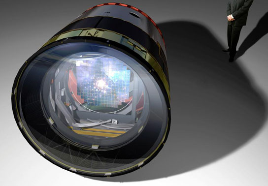 artistic rendering of the Large Synoptic Survey Telescope