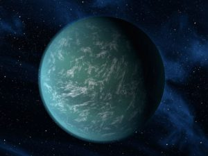 artist's conception of planet Kepler-22b