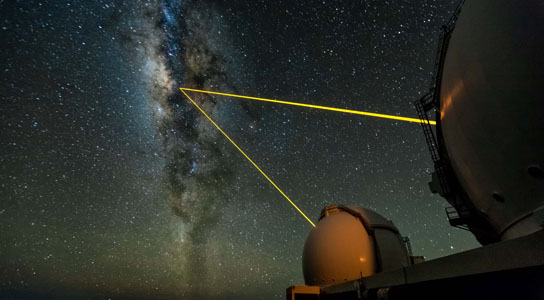 Astronomers Discover Star Orbiting The Black Hole At