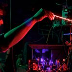 A new kind of light-manipulating device — built by researchers at the University of Queensland in Australia and elsewhere — does what no ordinary computer could ever do. Credit: Alisha Toft
