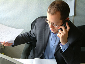 Separate Business Phone Line