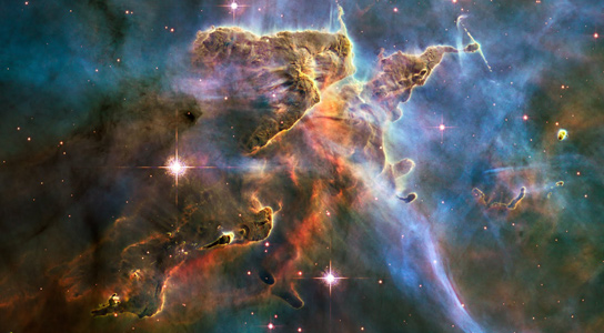 Astronomers Combine Hundreds Of Images Carina Nebula To Reveal Thousands Stars In Stellar Nursery