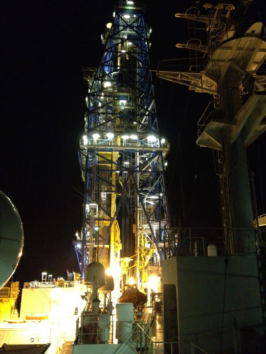 chikyu-research-vessel-drill