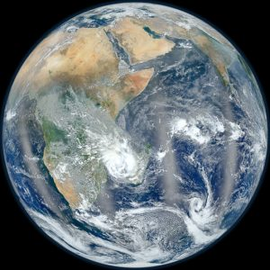 companion image to the wildly popular Blue Marble
