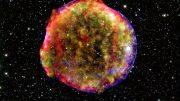 composite image of the Tycho supernova