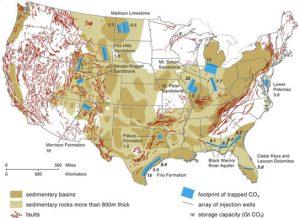 deep saline aquifers in the United States
