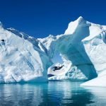 dramatic melt-off of Arctic sea ice due to climate change