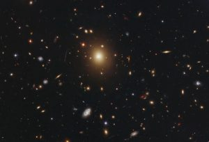 elliptical galaxy Abell 2261