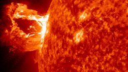 eruption producing a coronal mass ejection