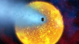 exoplanet may turn to dust