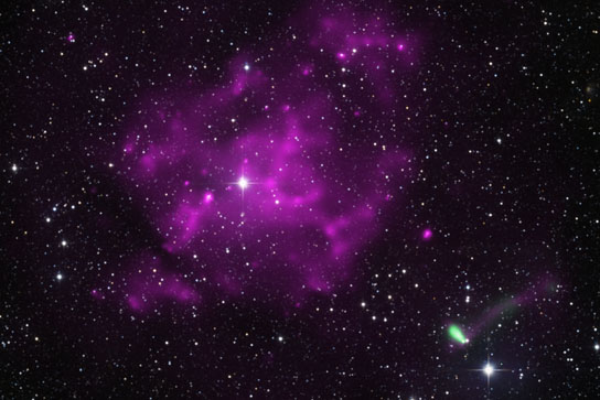 fastest moving pulsar may have been found about 30,000 light years from Earth