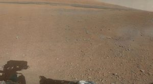first 360-degree panorama in color from Curiosity