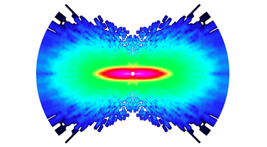 first-ever images of atoms moving in a molecule