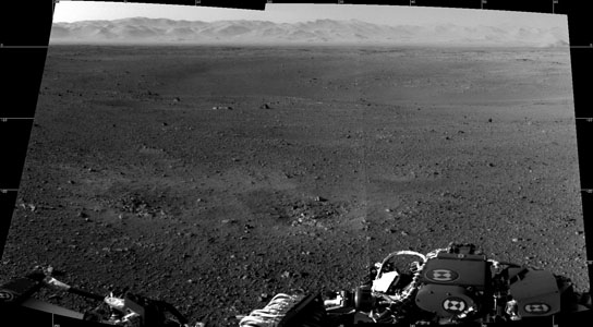 first full-resolution images of the Martian surface