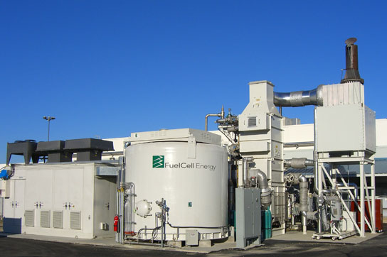fuel cell at the Santa Rita Jail