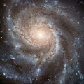 galactic image taken by the Hubble Space Telescope