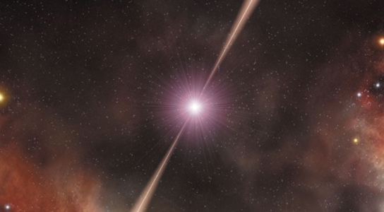 Gamma Ray Bursts Hold Clues To Chemical Composition Of The Early