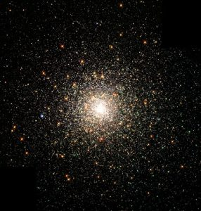 globular star clusters such as M 80 in the stellar constellation of Scorpius
