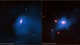 how supermassive black holes grow in the centers of galaxies