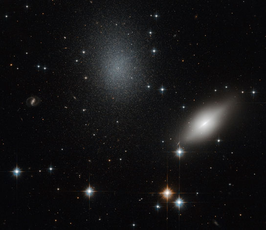 hubble image of galaxies NGC 5011B and NGC 5011C