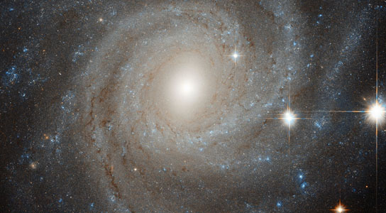 hubble views spiral galaxy NGC 3344