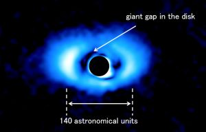 image of the protoplanetary disk around PDS 70