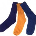 inhibit microbial growth in cotton socks, T-shirts and other clothes using silver particles