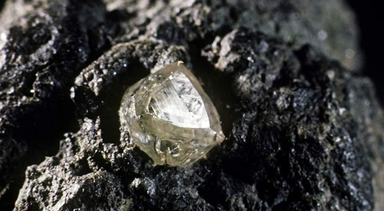 Diamonds Are Like the Earth's Champagne Corks