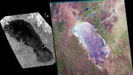 lake known as Ontario Lacus on Saturn's moon Titan