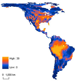 mammals unlikely to outrun climate change