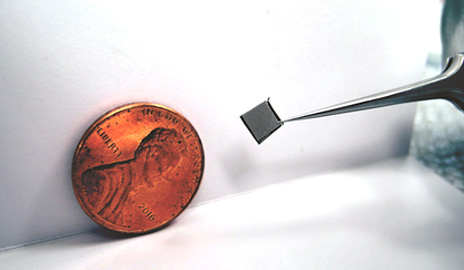 micro fuel cell made of glass