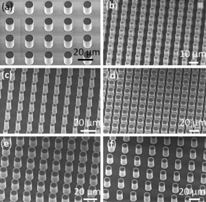 microscale roughening of a surface can dramatically enhance its transfer of heat