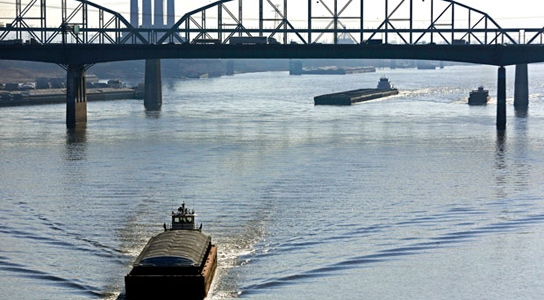 Low Water Levels Could Shut Down Mississippi River Shipping Lanes
