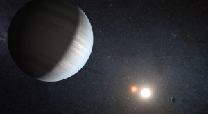 multiple planets orbiting two suns