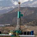 Natural-gas wells such as this one in Colorado are increasingly important to the US energy supply. Credit: David Zalubowski/AP Photo