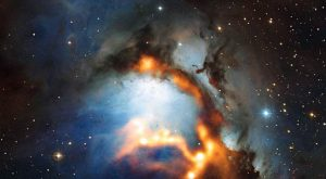 new image of the region surrounding the reflection nebula Messier 78