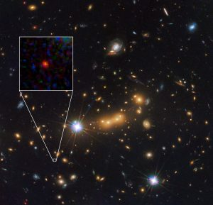 newly discovered galaxy MACS0647-JD
